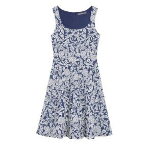 Brixton Ivy Floral Knit Fit & Flare Dress   Size S